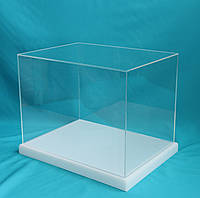 Куб прозрачный, витрина для музея