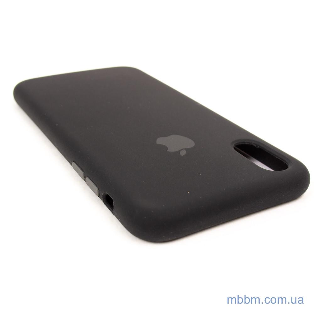 Накладка Apple iPhone Xs X black Для телефона