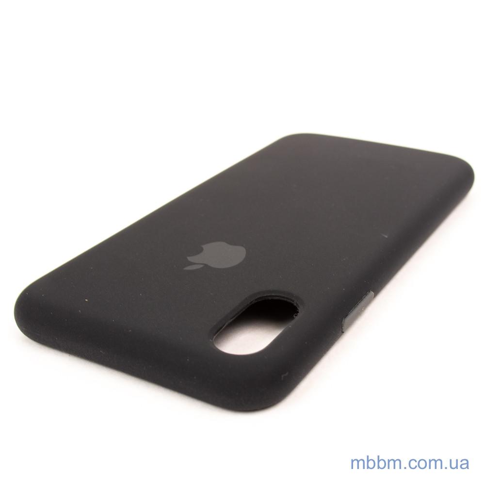 Накладка Apple iPhone Xs X black Для телефона Чехол