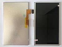 "Дисплей для планшета 7"" Irbis TZ49, 30 pin, размер 164*97*3 мм, (1024*600)"
