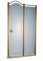 Душевая дверь с золотым профилем Devit Charlestone FEN2002MR (правая)