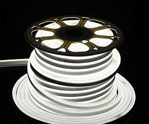 Гибкий неон SMD 2835 (120 LED/m) IP68 Белый холодный 220V Econom