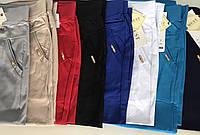 Женские  летние тонкие цветные капри - бриджи (БАТАЛ)  Must яркие цвета