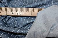 Джерси,  цвет джинс полоса ,не стрейч, формодаржащий №292, фото 1