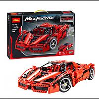 """Конструктор Decool 3382А """"Гоночный автомобиль Enzo Ferrari"""" (1367 деталей, аналог Lego Technic 8653), фото 1"""