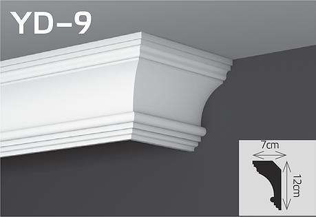Карниз скрывающий настенный YUM Decor YD-9, фото 2