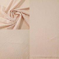 Кружевная ткань с напылением 221-765 молочное, м