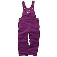 Вельветовый полукомбез фиолетовый Oshkosh
