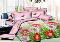 Постельное бельё полуторное 150*220 хлопок (9830) TM KRISPOL Украина