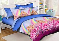 Детский комплект постельного белья 150*220 хлопок (11940) TM KRISPOL Украина