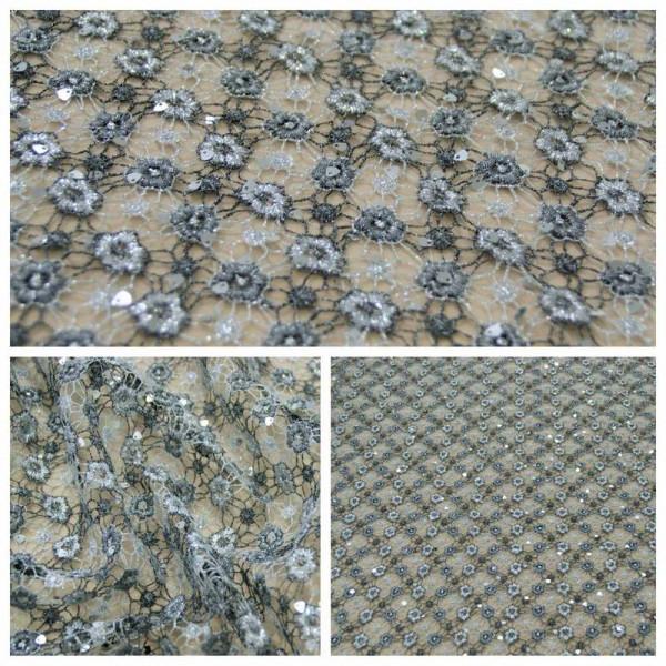 Макраме 1029 серебро, м