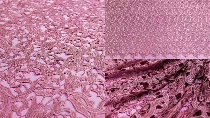 Макраме 3037 грязно-розовое, м
