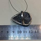 Натуральный агат друза кольцо капля с натуральным камнем агат в серебре. Кольцо с агатом 16,5-17 Индия, фото 5