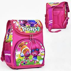 Рюкзак каркасный школьный Trolls ортопедический Розовый (St2012)