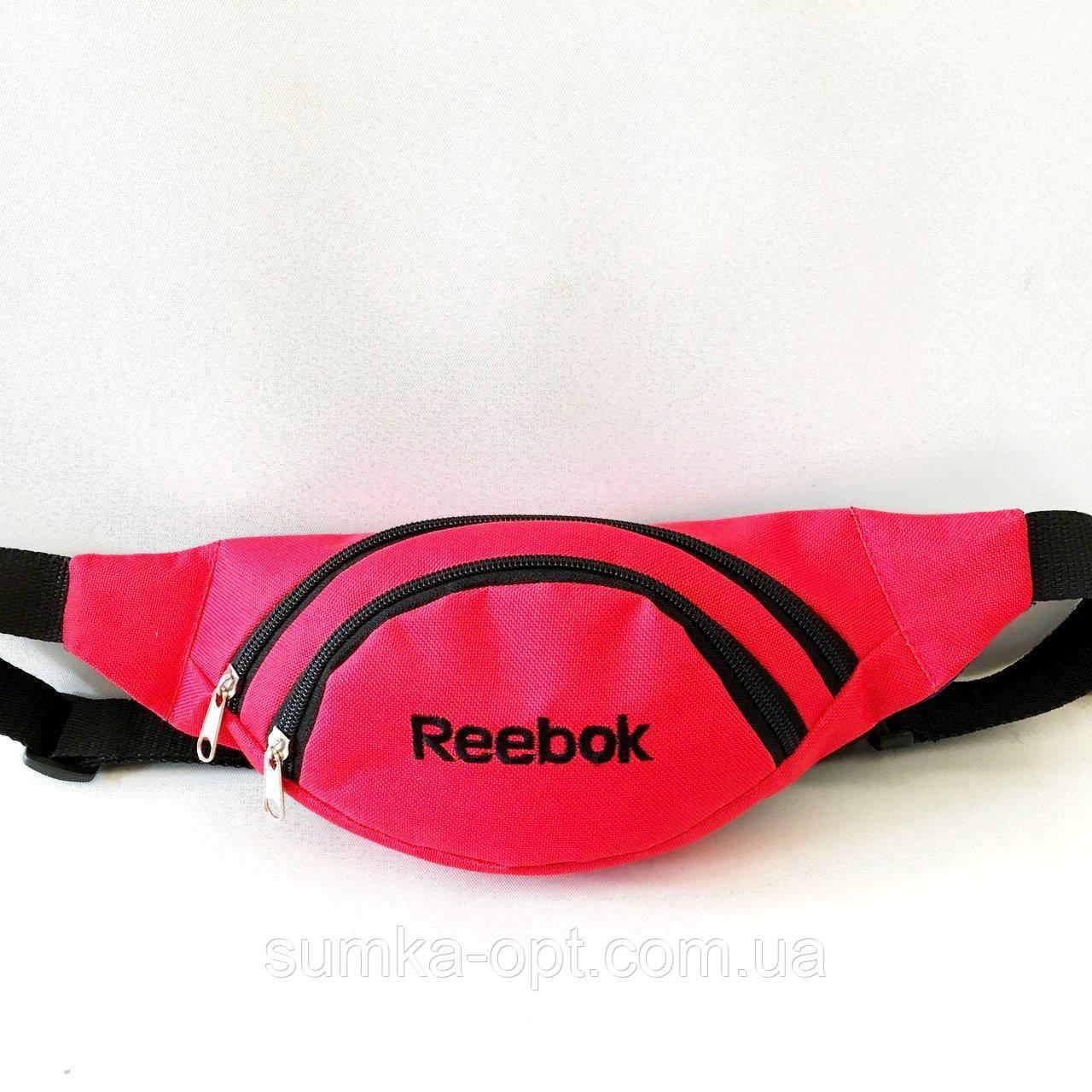 Спортивные сумки на пояс ReaBook текстиль (красный)14*36см