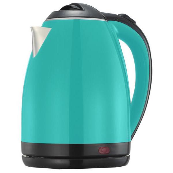 Електрочайник DELFA DK-3500X turquoise