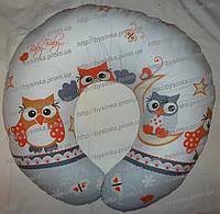 Подушка для беременных и кормления ребенка со съемной наволочкой, фото 1