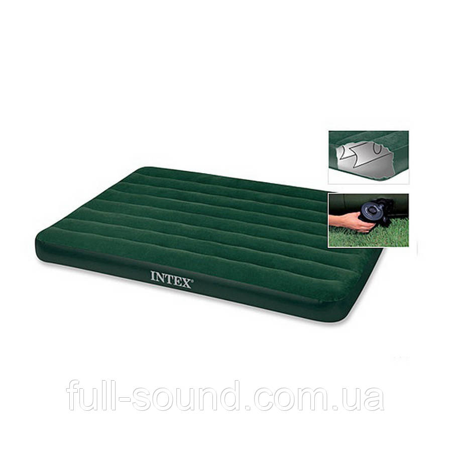 Надувной матрас с электро насосом Intex 66968
