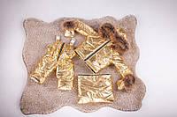 Детский зимний комбинезон трансформер от 0 до 2 лет. Комбинезон три в одном с натуральным мехом енот, фото 1