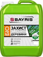 Грунтовка Биозащита для древесины Байрис концентрат 1 к 9 бесцветная (1 л)
