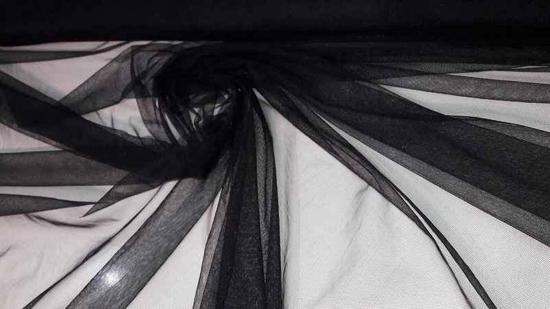 Сетка Rigit Tul 150cm (21) черная, м
