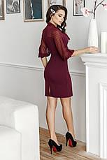 Платье, №136, марсала, фото 2