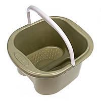 Ванна для педикюра (пластик/ведро), розовая, хаки, фото 1
