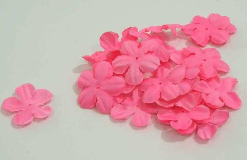 Цветочек #2 4,3см, розовый 1000шт