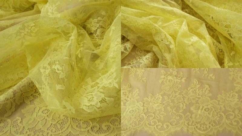 Шантильи 6001 без корда, 1.5m*3m, piece, желтый, шт