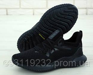 Мужские кроссовки Adidas Alphabounce Instinct  (черные)