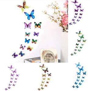 Декор стен. Бабочки, стрекозы, цветы.
