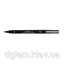 Лайнер PiN fine line 0.1мм, черный UNI