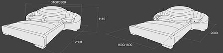 Кровать «Калипсо-4», фото 2