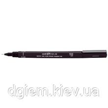Лайнер PiN fine line 0.1мм, синий UNI