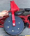 Прикатка нового образца. Прикатывающий каток (прикатывающее колесо СЗ) в сборе на сеялку СЗ ОЗШ 00.4140-01-Т