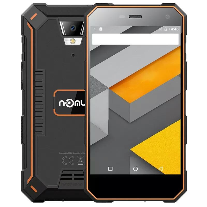 Смартфон Nomu S10 Orange 2+16Gb /8+5Mp /Gorilla Glass4 /5000 mAh IP68