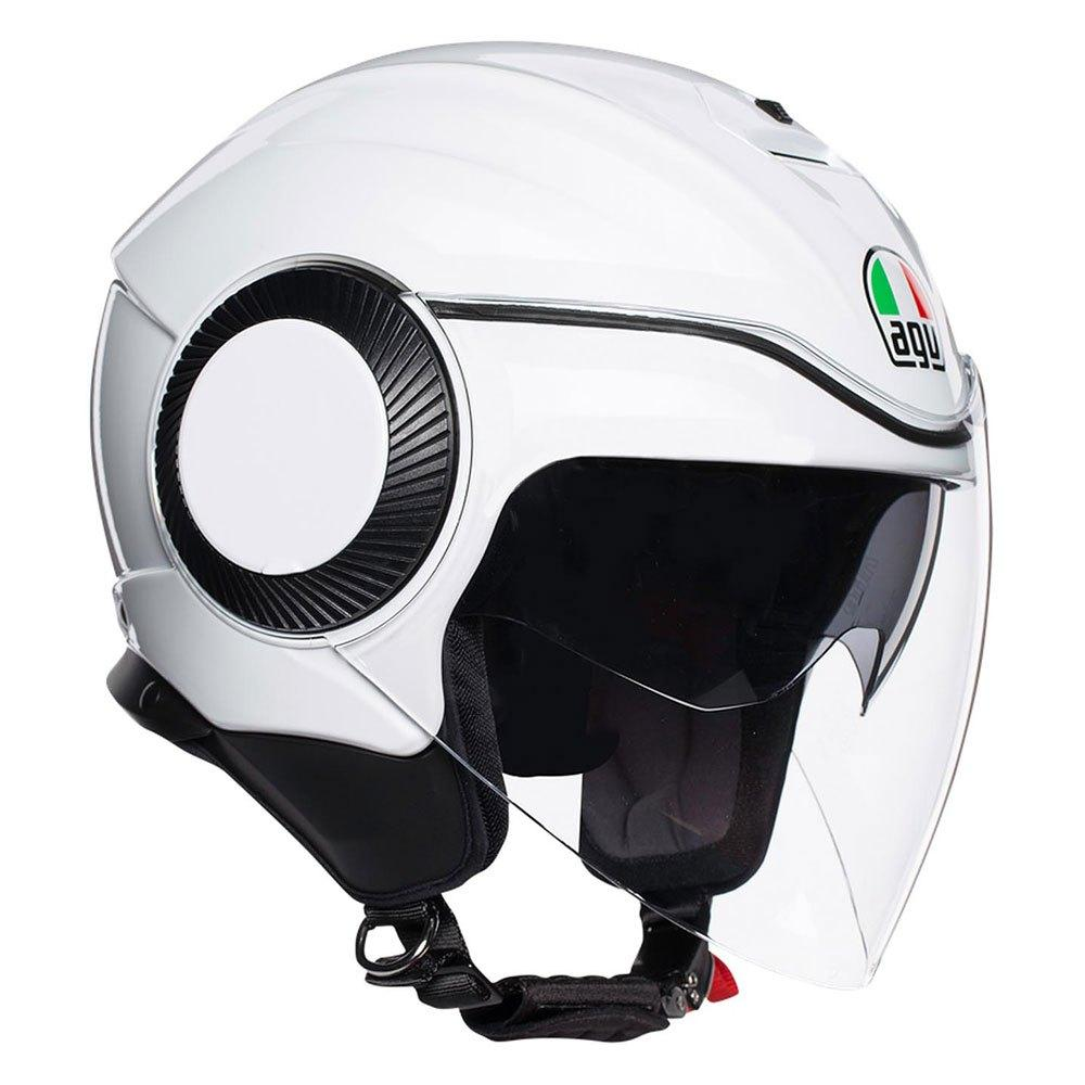 Мотошлем AGV ORBYT GLOSS WHITE, XL 2019 *