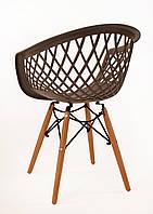 Пластиковое кресло VIKO кофейный