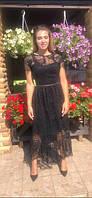 Коктейльное женское платье с 42 по 56 р. Г4073, фото 1