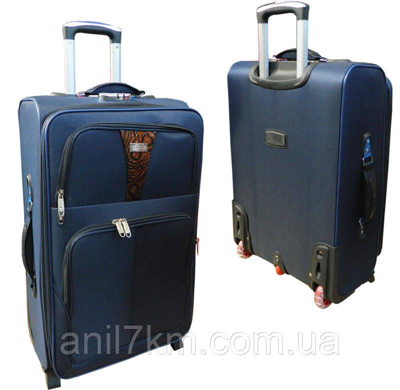 Середній дорожній валізу на силіконових колесах