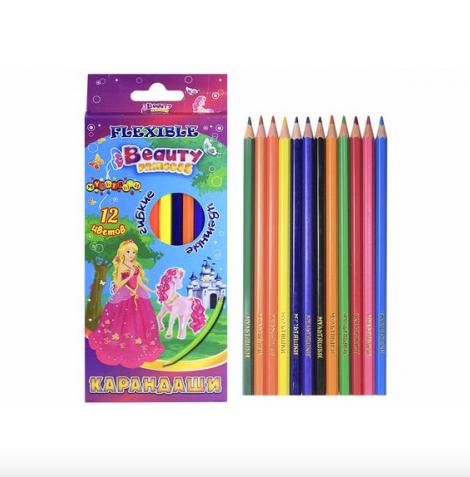Карандаши цветные набор.Цветные карандаши в коробке.Карандаши цветные для рисования.