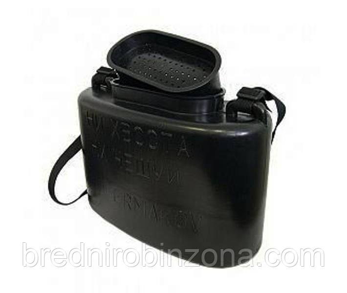 Кан живцовый черный 10 литров Тонар-Ермаков