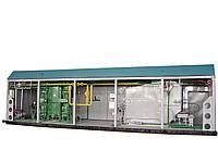 Транспортабельная котельная установка ТКУ-1,8 Г (газ, пар, пар-вода)