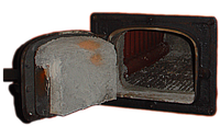 Чугунная дверка к котлу НИИСТУ