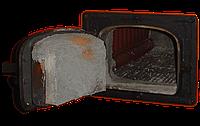Чугунная дверка к котлу ДКВр
