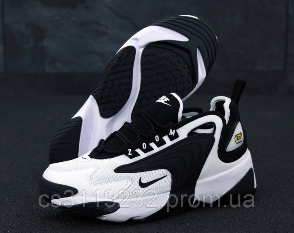 Мужские кроссовки Nike Zoom 2K (черно-белые)
