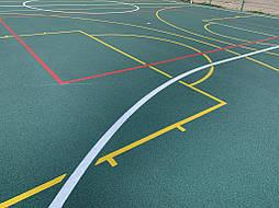 Бесшовное покрытие для школьной площадки г.Херсон, школа № 50 14