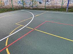 Бесшовное покрытие для школьной площадки г.Херсон, школа № 50 15