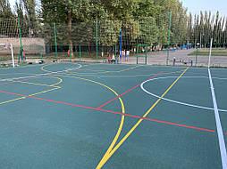 Бесшовное покрытие для школьной площадки г.Херсон, школа № 50 18
