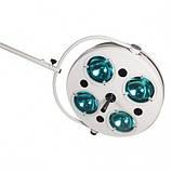 Светильник хирургический L734-II-четырехрефлекторный передвижной, фото 2